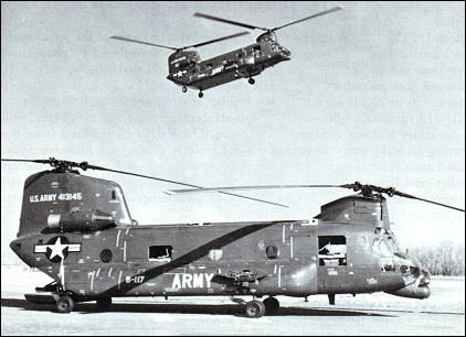 "Boeing-Vertol ACH-47 ""Armed/Armoured Chinook"""