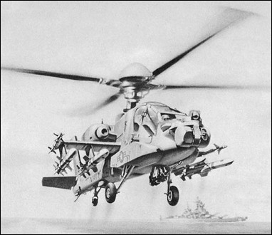 Sea Apache, the initial proposal