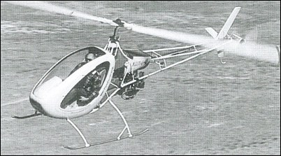 Prototype Eagle Helicycle with Rotax engine