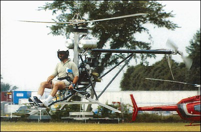 Innovator Mosquito ultralight helicopter
