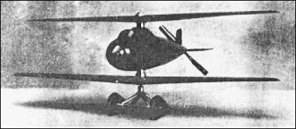 Pescara Stoppable Rotor-Wing