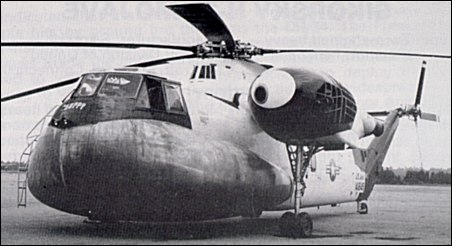 Sikorsky HR2S-1W AEW helicopter
