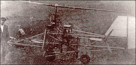 Eduard Steiner's No.1 helicopter