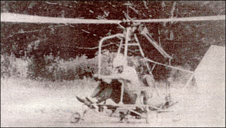 Eduard Steiner's No.2 helicopter