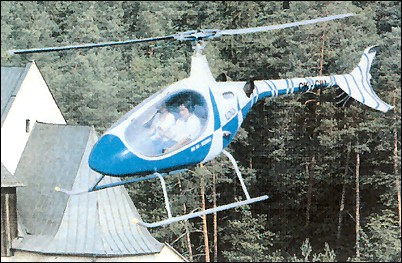 NA40 Bongo two-seat light utility helicopter
