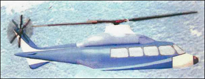 Computer graphic of medium transport helicopter believed to be the CHRDI Z-10