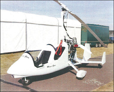 "Magni M 16-2000T modified version for ""Global Eagle"" world circumnavigation attempt"